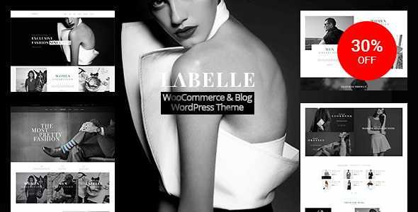 Labelle WordPress Theme free download