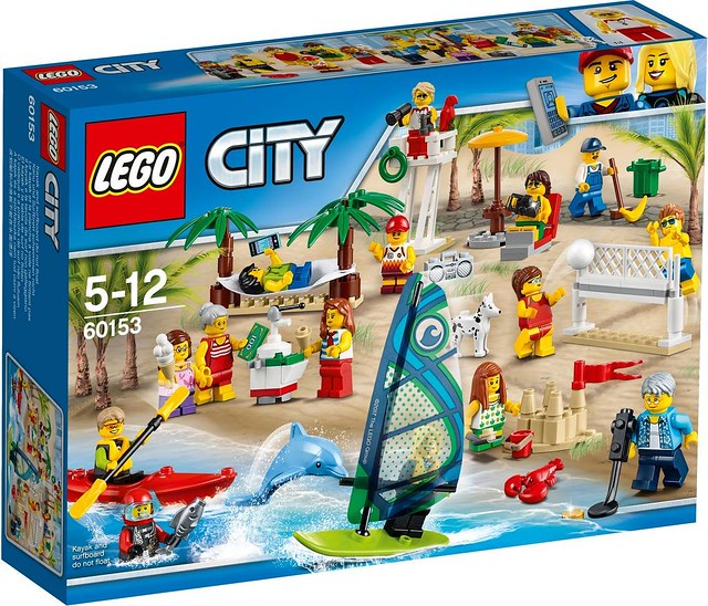 60153 People Pack – Fun at the Beach 1