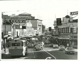 Karangahape Road, one of Auckland's busiest shopping areas