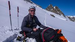 W drodze na przełęcz Coli de Punta Fuora 3108m. Pawel.
