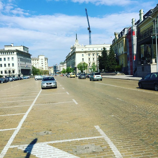 #Sofia is empty during #Easter.