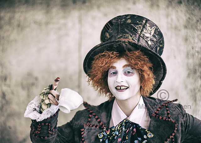 Mad Hatter - Deecon 2017  - Cosplay Participant - Portrait -  Dundee University Dundee Scotland