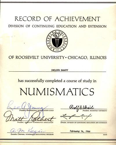 shelly banoff diploma UIC 1966