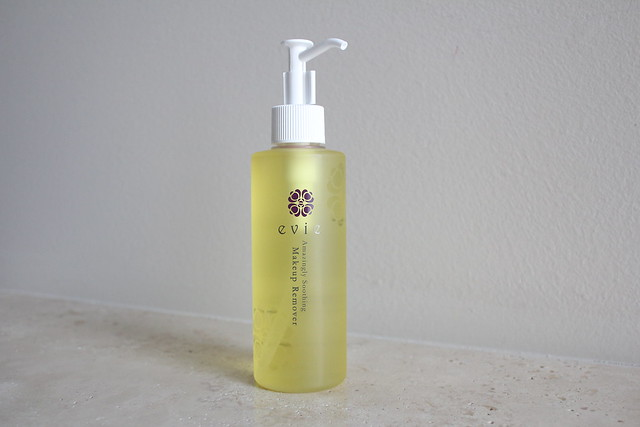 Evie Amazingly Soothing Makeup Remover oil cleanser review