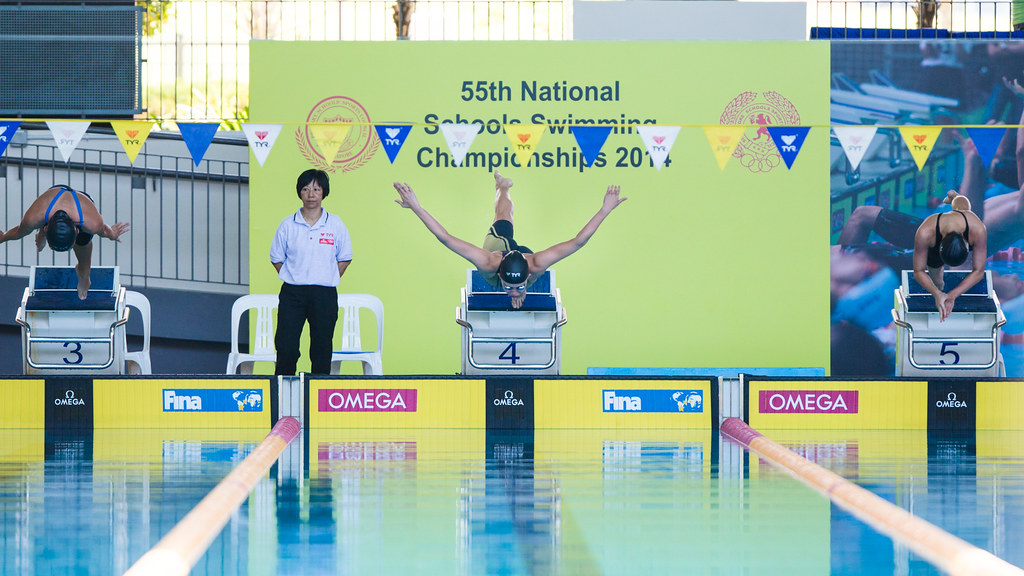 National Schools Swim Champ 2014