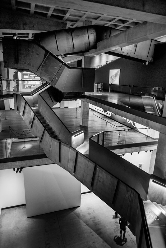MONA staircase