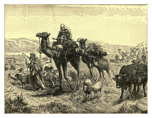 001-Arabes en el valle de Jerico-Van Wert's travels in Asia and Africa-1884