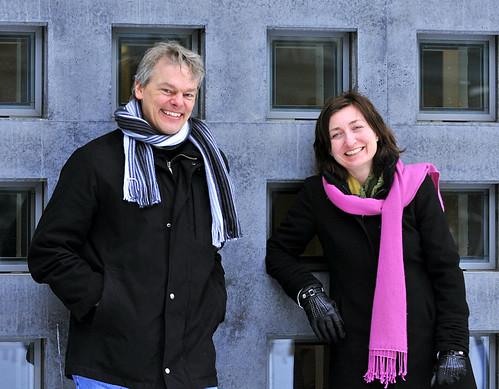 May-Britt Moser og Edvard Moser
