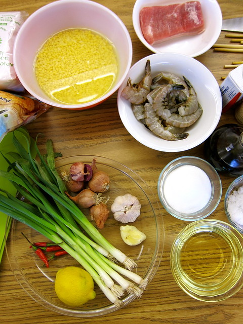 Banh Bot Loc Tran — Vietnamese Tapioca Dumplings