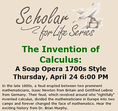 The Invention of Calculus