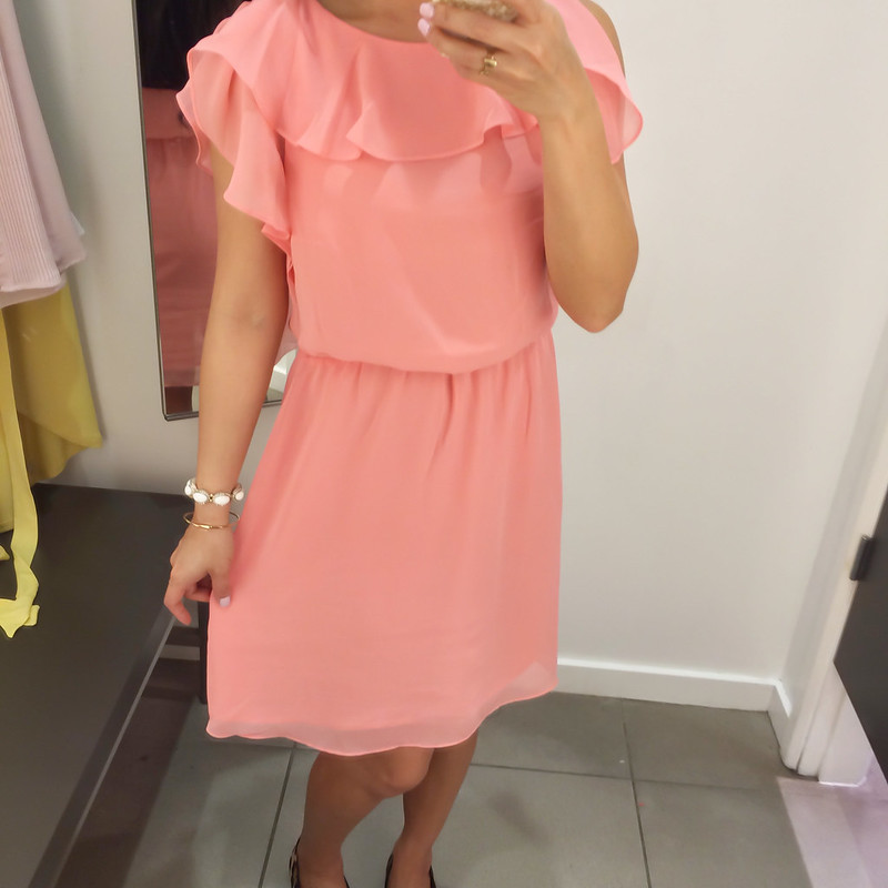 H&M Ruffle Dress