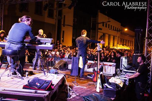 """Marta sui Tubi  Live@Bomba Libera Tutti, Prato.  25.04.2014  Luci: Andrea """"Bobo"""" Amadei"""