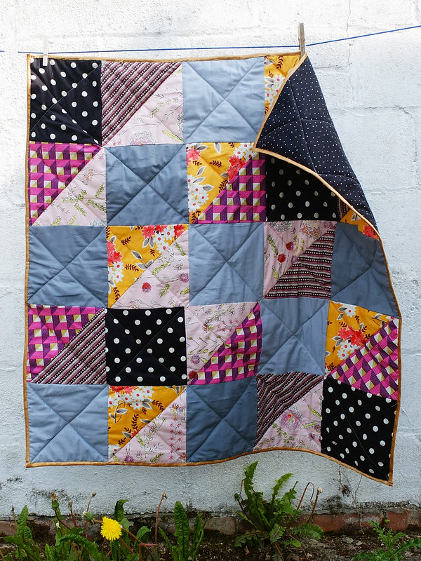 first patchwork quilt