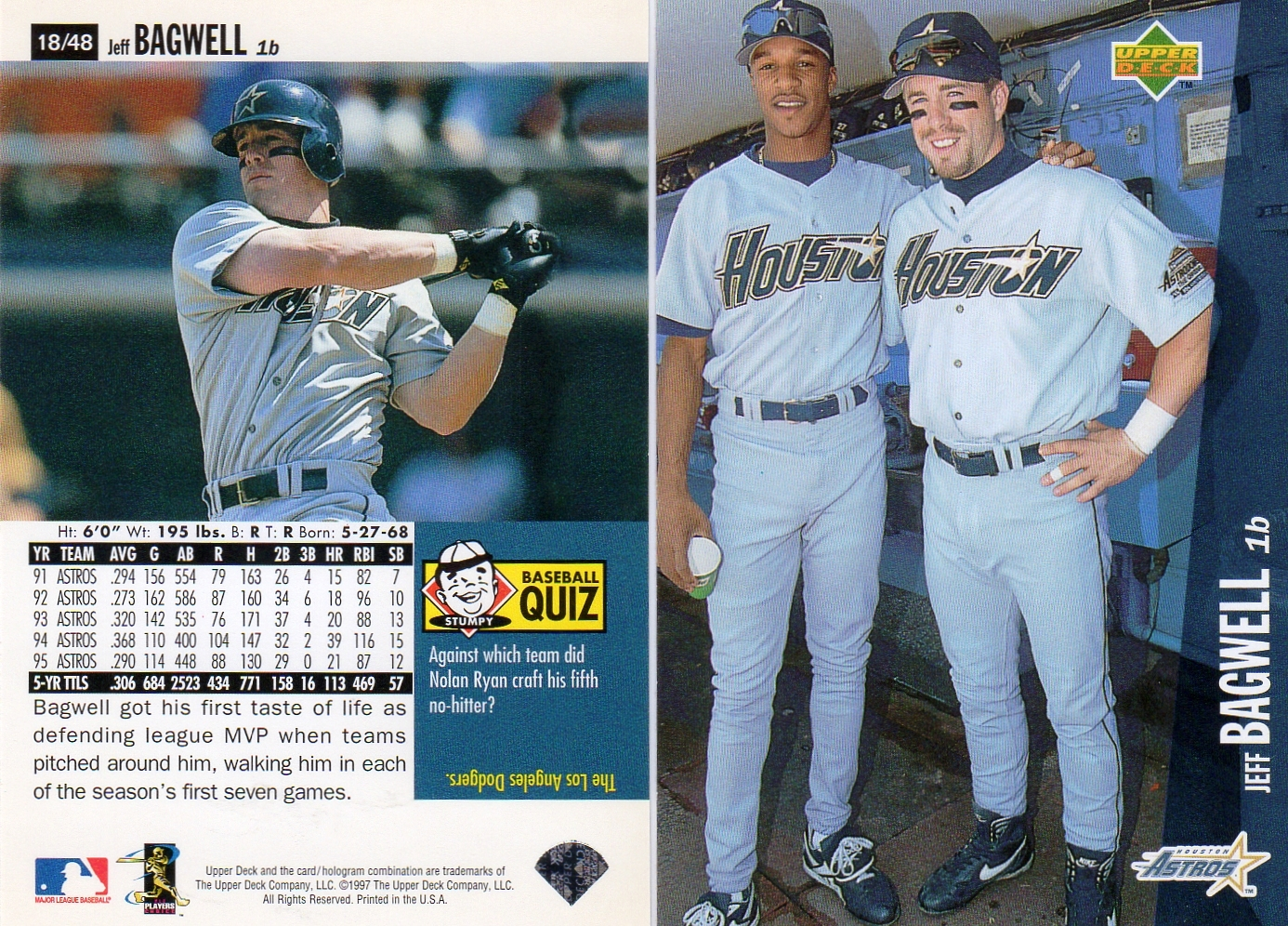 jeff bagwell price list supercollector catalog