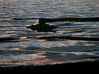 Ice Breaking Apart