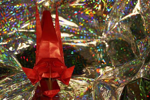 Origami 'Han-nya-funno-kashira' (Tomoko Fuse)