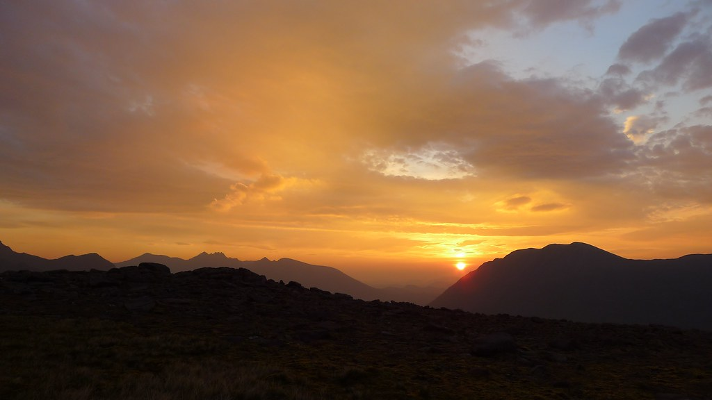 Fisherfield Sunrise