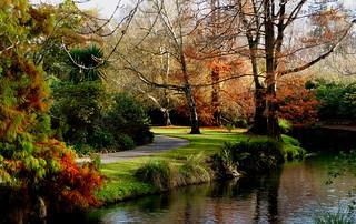 Christchurch Botanic Gardens.