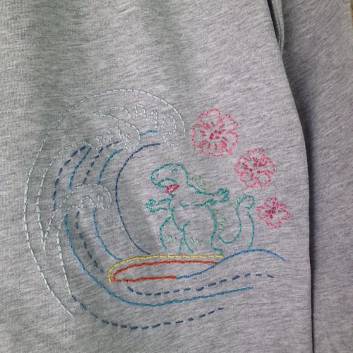 surfin godzilla