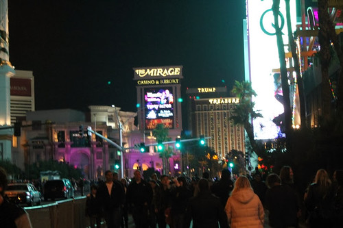 Las Vegas Strip - New Years