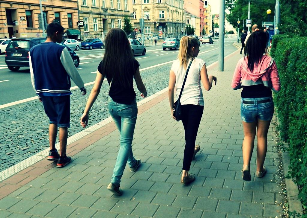 Youth on Pionýrská Street