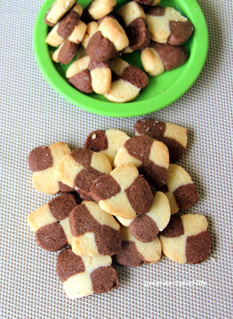 Vanilla chocolate cookies recipe