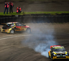 Petter Solberg and Tanner Foust