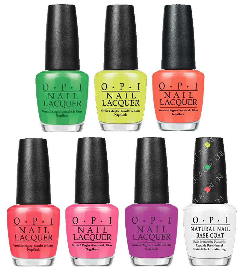 OPI neon brights 2014