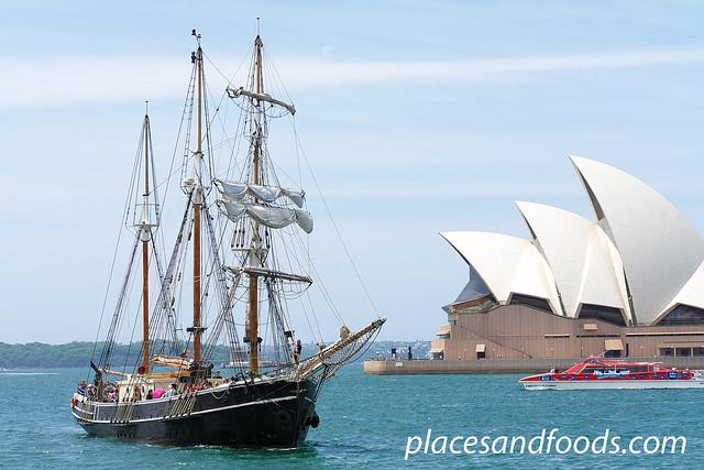 sydney tall ships opera house