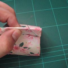 การพับกระดาษเป้นถุงของขวัญแบบไม่ใช้กาว (Origami Gift Bag) 013