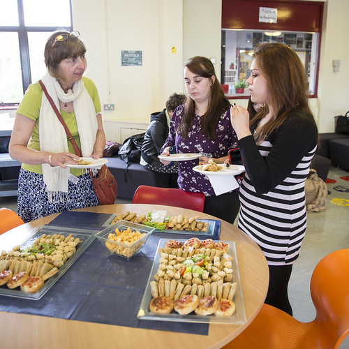 College holds international lunch