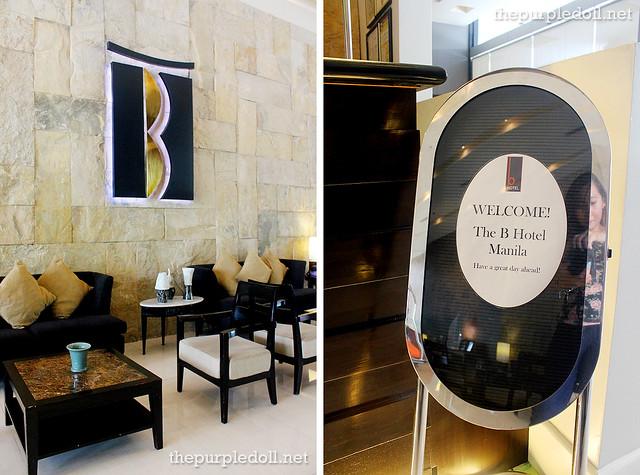 B Hotel Alabang Lobby