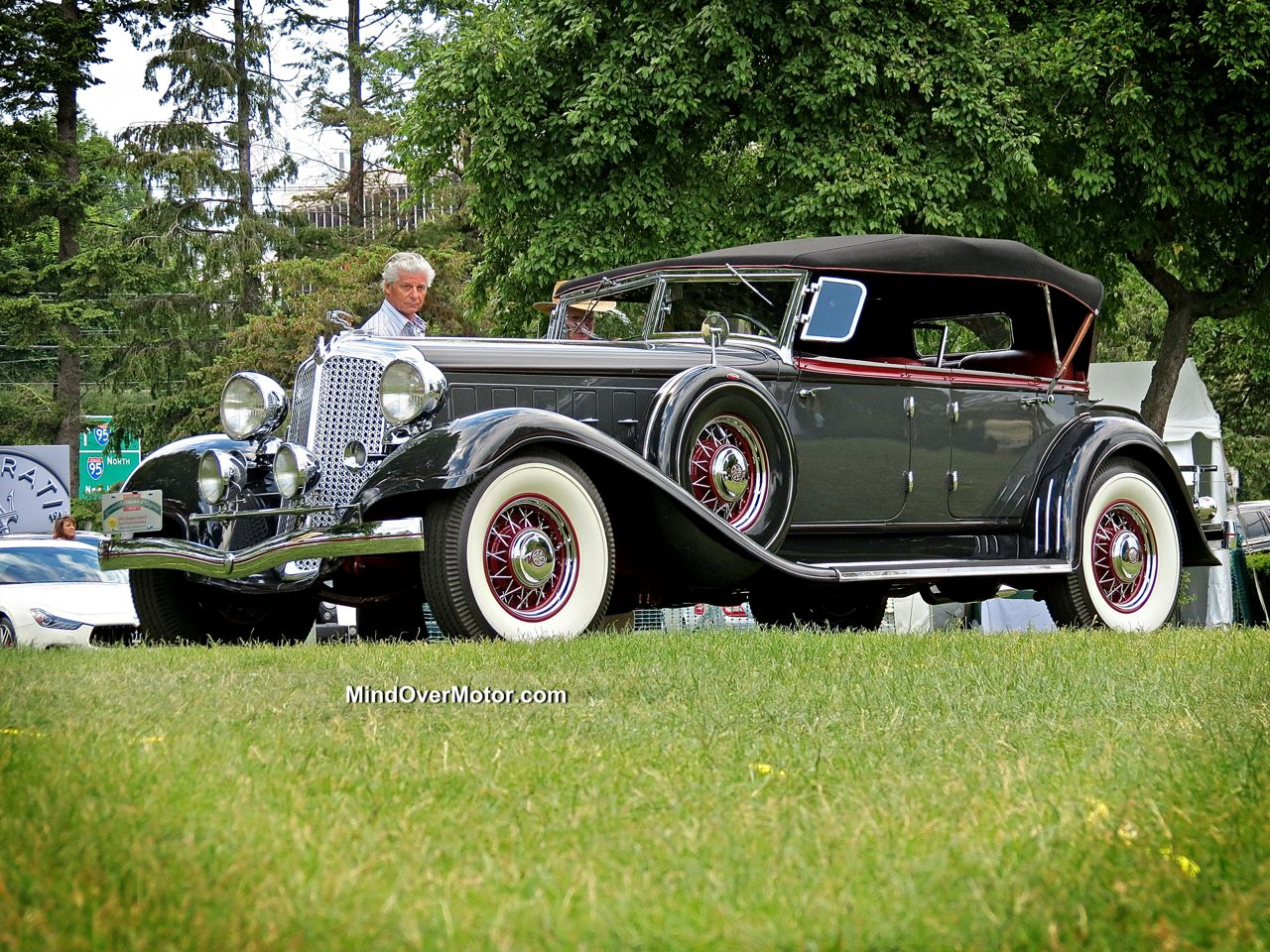1933 Chrysler Imperial at the Greenwich Concours d'Elegance