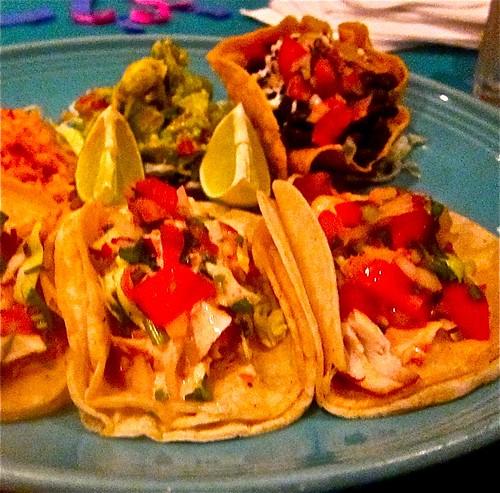 fresh fish taco