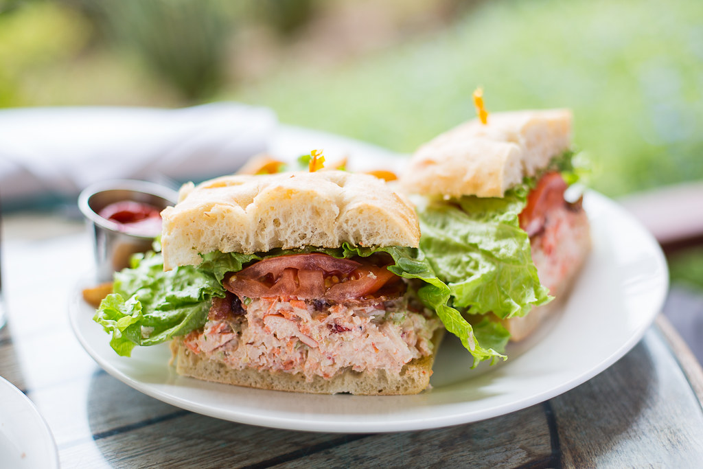 Lobster BLT at Five Palms Maui