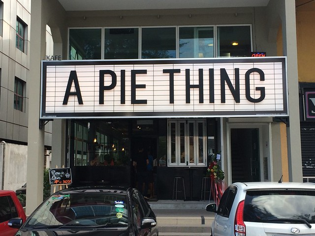 a pie thing - damansara uptown - yummy savoury and sweet pies
