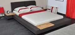 sofa bed(0.0), couch(0.0), studio couch(0.0), floor(1.0), bed frame(1.0), furniture(1.0), room(1.0), box-spring(1.0), bed sheet(1.0), bed(1.0),