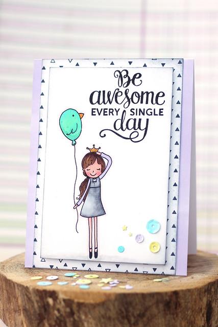be awesome! {mama elephant stamp highlight}