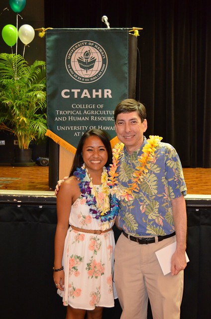 "<p>CTAHR celebrated their graduates at the college's convocation ceremony on May 7, 2014 at the University of Hawaii at Manoa Campus Center Ballroom. For more photos go to <a href=""https://www.flickr.com/photos/ctahr/sets/72157644231198198/"">www.flickr.com/photos/ctahr/sets/72157644231198198/</a></p>"
