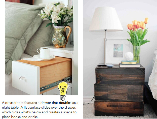 bedside table ideas 1