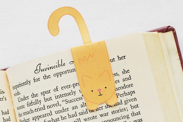 Kitty Magnet Bookmarks