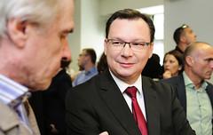 EU-Wahl, Imressionen vom Wahlabend, 25.05.2014