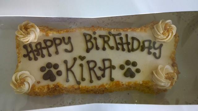 Kira birthday cake