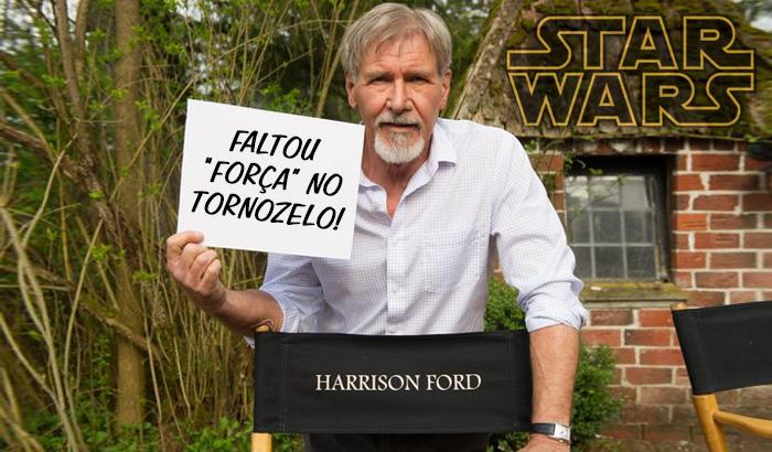 Harrison Ford afastado de