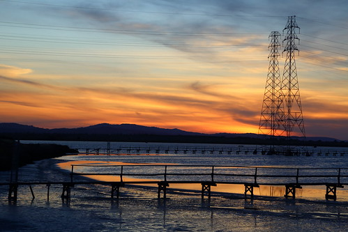 california sunset canon power paloalto baylands utilitylines 5dmarkiii