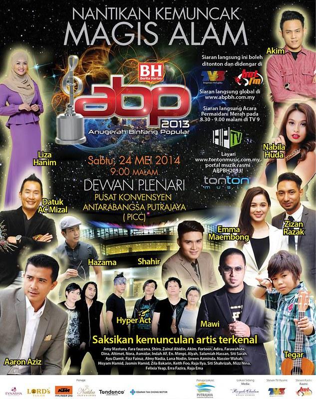 Anugerah Bintang Popular Berita Harian 2013