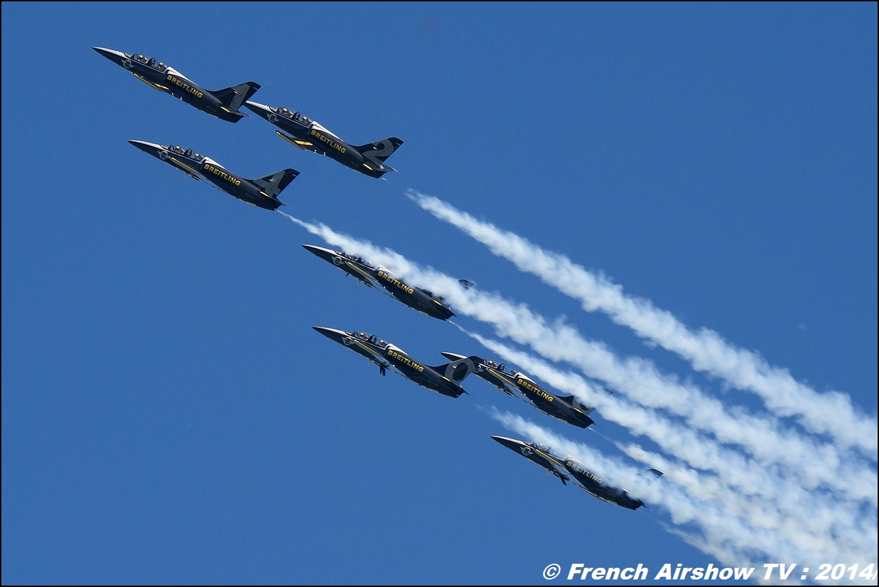 Breitling Jet Team ,Meeting Aerien 2014