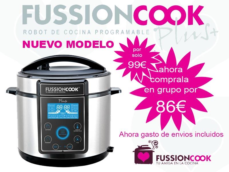 En 1 654 mensajes for Robot de cocina fussioncook