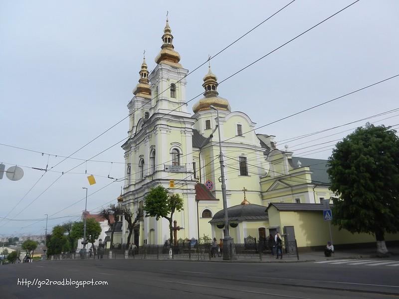 Тут - церковь