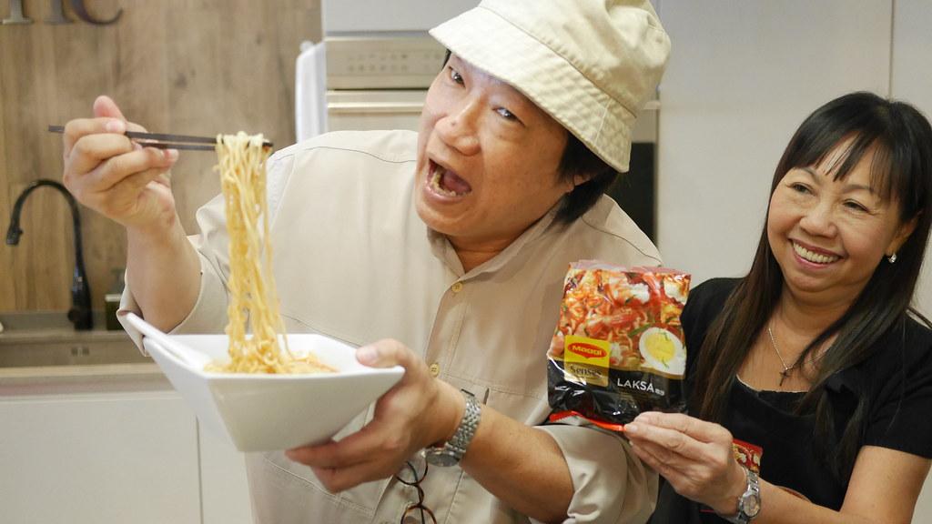 Famed Singapore food critic KF Seetoh loves Maggi Senses Laksa